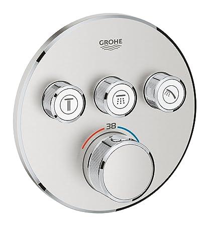 Grohe 29121dc0 Grohtherm SmartControl, alcachofa de ducha y sistemas de termostato con 3 Barrera válvulas