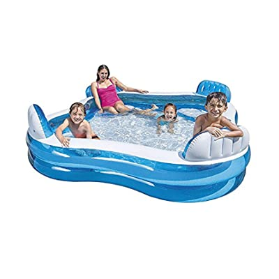 Methink Toy Family Lounge Inflatable Pool: Garden & Outdoor