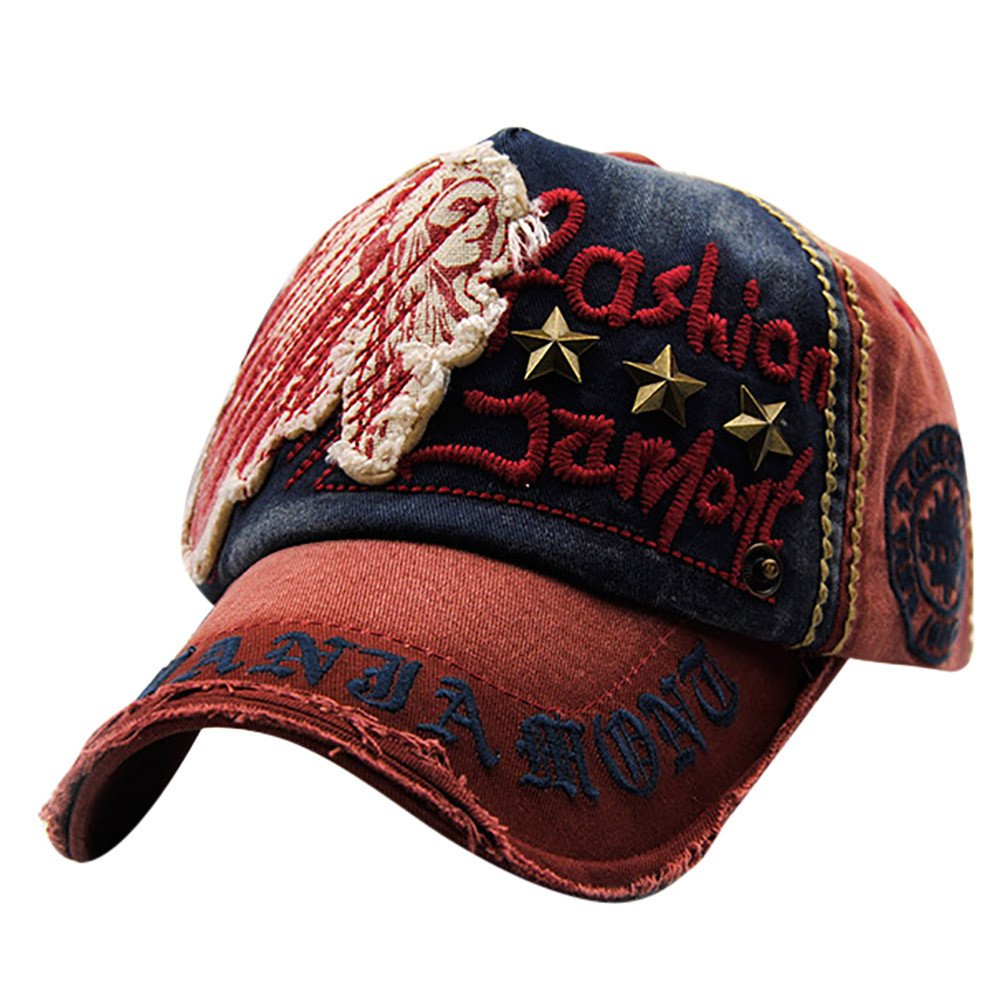 shitou Embroidered Summer Rivet Cap Hats for Men Women Casual Hat Hip Hop Baseball Caps