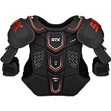 STX Ice Hockey HP SPH1 SR 04 BK/RD Stallion HPR 1.1 Senior Shoulder Pad, X-Large, Black/Red