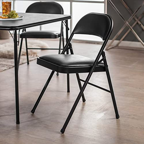 MECO Sudden Comfort Padded Folding Chair – 2 Pack