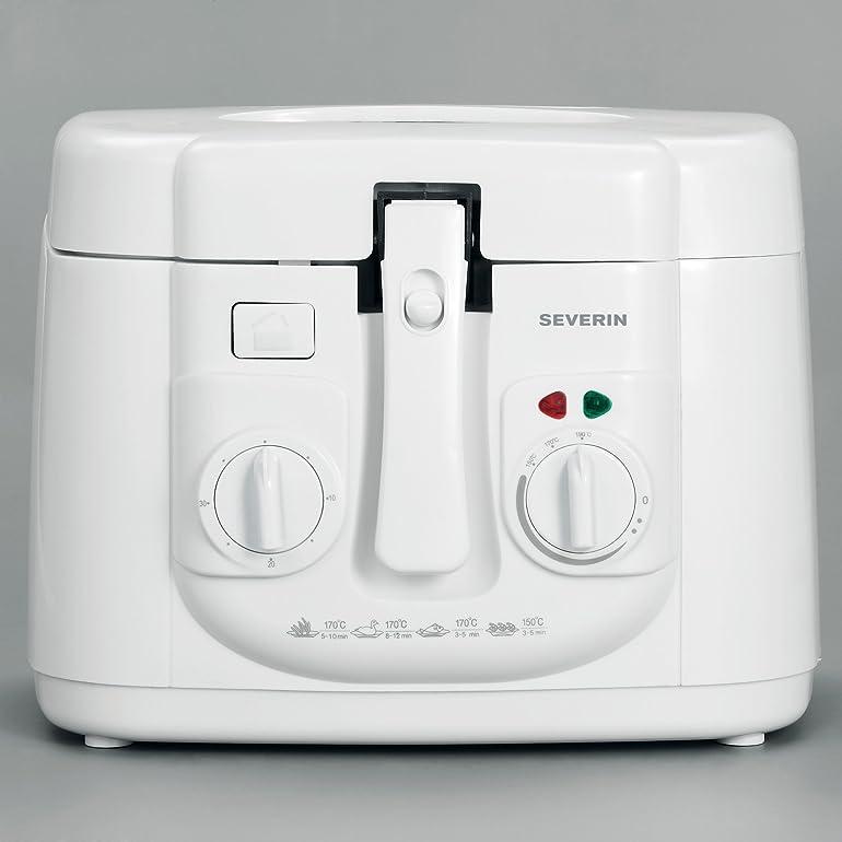 Severin Deep Fryer 2.5 Litre, White: Amazon.co.uk: Kitchen & Home