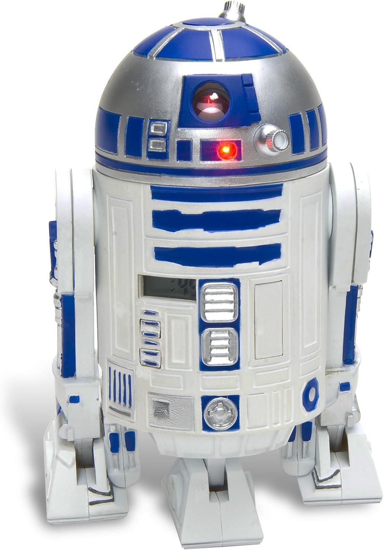 Star Wars Despertador R2-D2 – 3D de Despertador de plástico, con ...