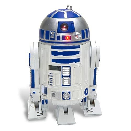 Star Wars Despertador R2-D2–3d de despertador de plástico, con R2-D2Sounds.