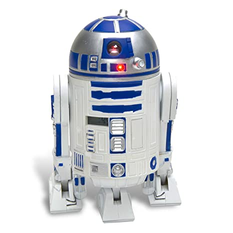STAR WARS Despertador R2-D2 – 3D de Despertador de plástico, con R2-D2 Sounds.