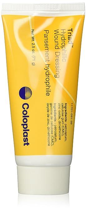 Amazoncom Coloplast Triad Hydrophilic Wound Dressing 25 Oz Tube