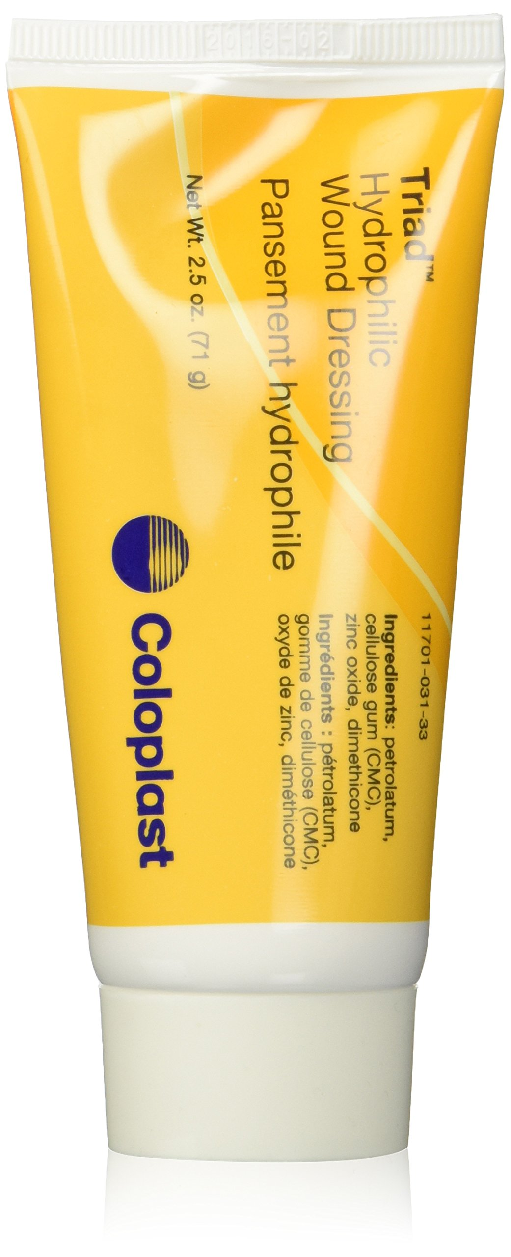 Coloplast Triad Hydrophilic Wound Dressing, 2.5 Oz Tube (621964) Category: Specialty Dressings Woundcare Products