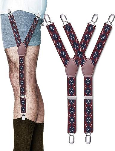 STAY GENT Y-Style Shirt Stays Antideslizante Tirantes Camisa Antiarrugas Hombre: Amazon.es: Ropa y accesorios