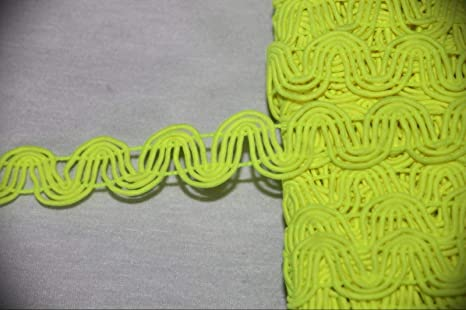 1//4 Inch ric rac  Ribbon trim with flowers  selling by the yard