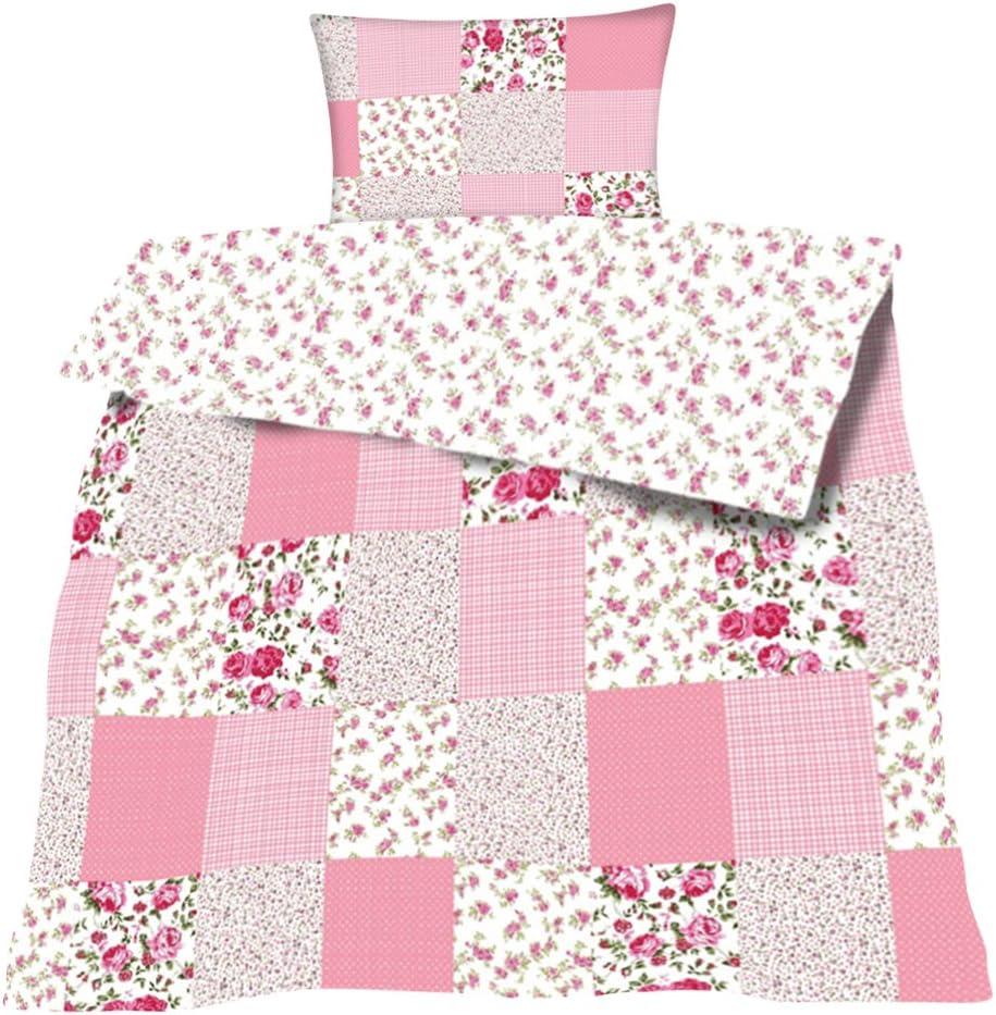 3-fach Bettenset 1 Bettdecke 140x200 cm /& 2 Kopfkissen 80x80 cm IKEA Bettzeug