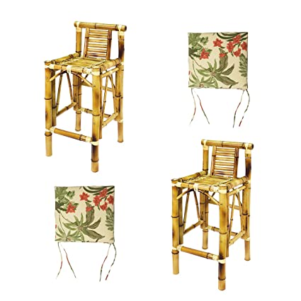 Awe Inspiring Amazon Com Ram Gameroom Set Of Two Bamboo Tiki Bar Stools Gmtry Best Dining Table And Chair Ideas Images Gmtryco