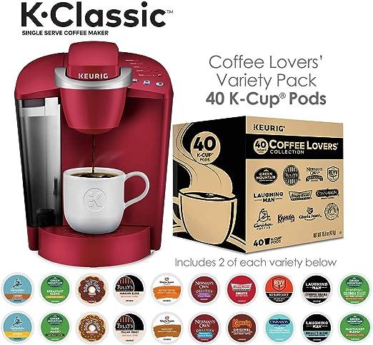 Amazon.com: K-Classic - Cafetera para amantes de la café ...