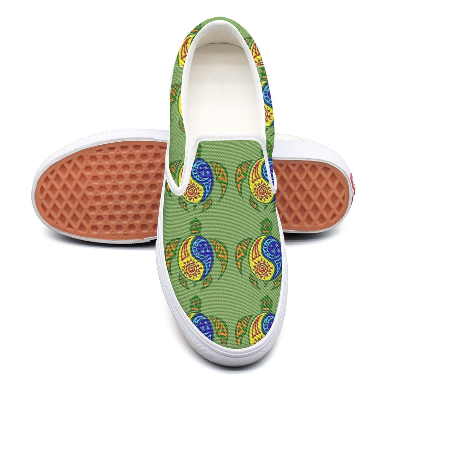 seventtynine Turtle Dance Classic Mens Canvas Slip-On Shoes Sneaker