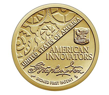 2018-P AMERICAN INNOVATION INTRODUCTORY UNCIRCULATED GOLDEN DOLLAR