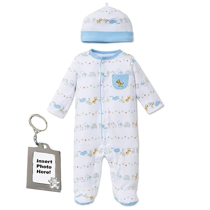 ed265b9b6 Little Me Preemie Newborn Baby Footie Sleep and Play Pajamas Footed ...