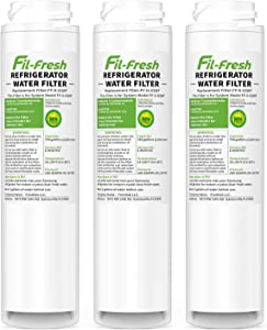 Fil-fresh GSWF NSF Certified Refrigerator Water Filters, Compatible with GE GSWF, SmartWater 238C2334P001, Kenmore 46-9914, 469914, 9914, GE PDS20MCRAWW, GE PFS22SISBSS, GE PFS22MISBBB, 3 Pack