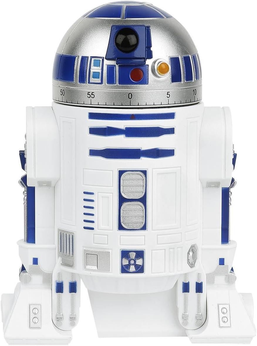 Blanc Star Wars R2-D2 Minuteur de Cuisine