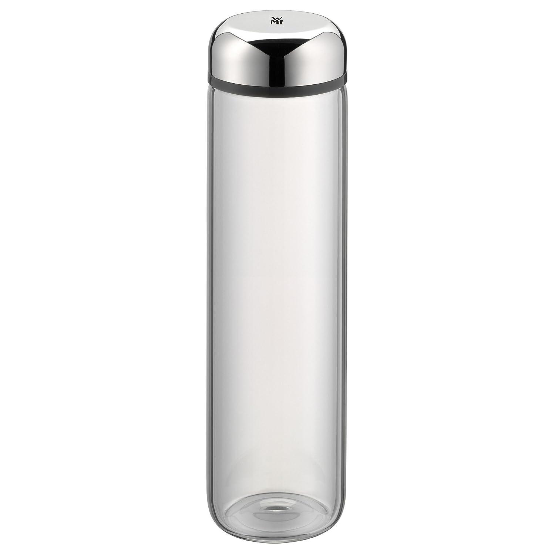 WMF Basic Trinkflasche, 750 ml, Höhe 26 cm, Glasflasche, für Warm ...