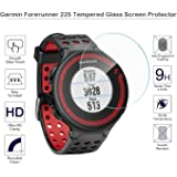 Garmin forerunner 225 235 Screen protector,9 H Hardness,0.3mm Thickness,Made From Real Glass (For Garmin forerunner 225)