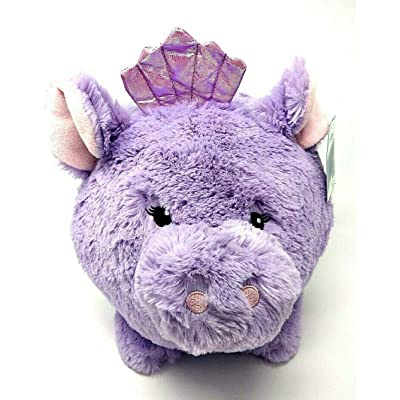 Your Zone Jumbo Plush Purple Simmering Mermaid Piggy Pig Bank: Toys & Games