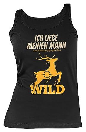 Jäger/Jägerin Sprüche Damenshirt   Coole Damen Trägershirts Jagd