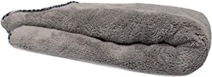 "Chemical Guys MIC1995 Gray Woolly Mammoth Microfiber Dryer Towel (36"" x 25"")"