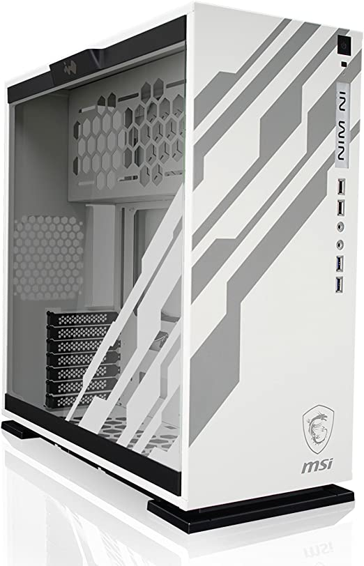 In Win 303-MSI Dragon Edition Midi-Tower Blanco - Caja de ...