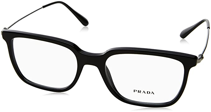 5945c3acbac42 Prada Men s PR 17TV Eyeglasses 55mm at Amazon Men s Clothing store