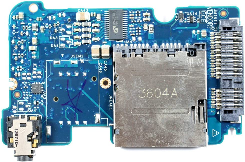Dell XPS L421X JDW37 Audio SD Slot Board LS-7844P