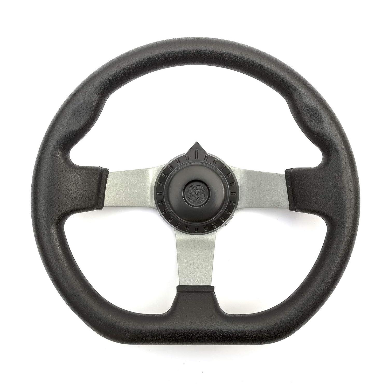 Steering Wheel 3 Bolt Fixing Gokart Offroad Project Build Ergonomic Grip Feel Kart New Petrolscooter