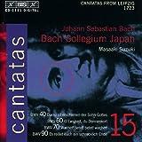 Bach : cantates sacrées vol. 15 BWV 40, 60, 70, 90