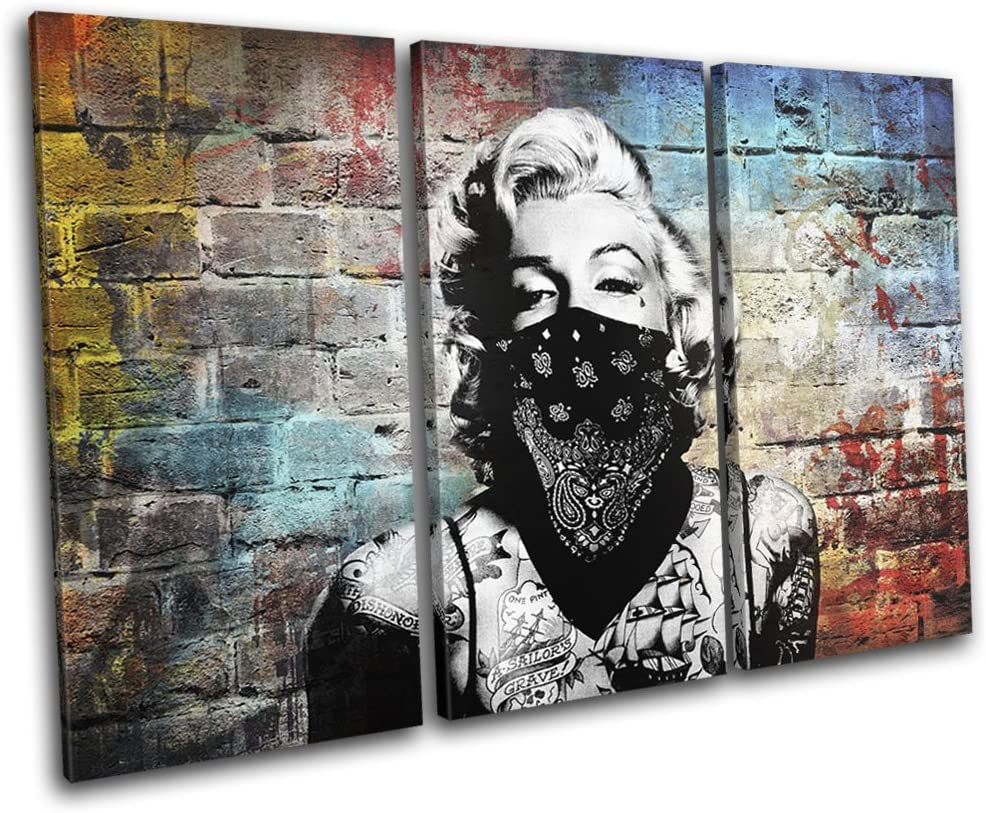 GRAFFITI URBAN DESIGN CANVAS PRINT PICTURE WALL ART READY TO HANG