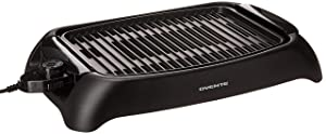 Ovente Electric Indoor, Non-Stick, 13 × 10-inch Grilling Plate, 1000W, Black (GD1632NLB)