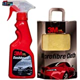 3M Combo of AS Dashboard Dresser (250 ml) and Cloth