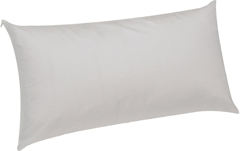 Pikolin Home - Almohada viscoelástica lyocell, desenfundable, híper-transpirable e impermeable, firmeza media, 50 x 90 cm, altura 13 cm (Todas las medidas): ...