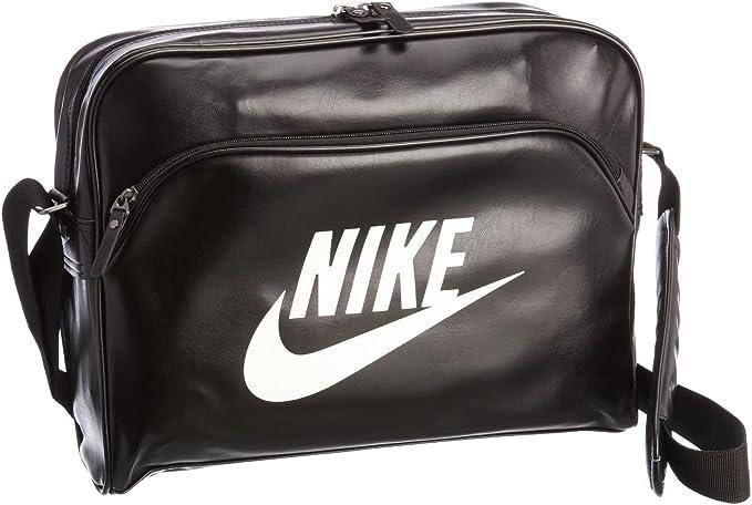 evitar métrico Saludar  Nike Heritage SI Track Tasche Umhangtasche Damen Herren Bag Schwarz-Weiß  Neu: Amazon.de: Bekleidung