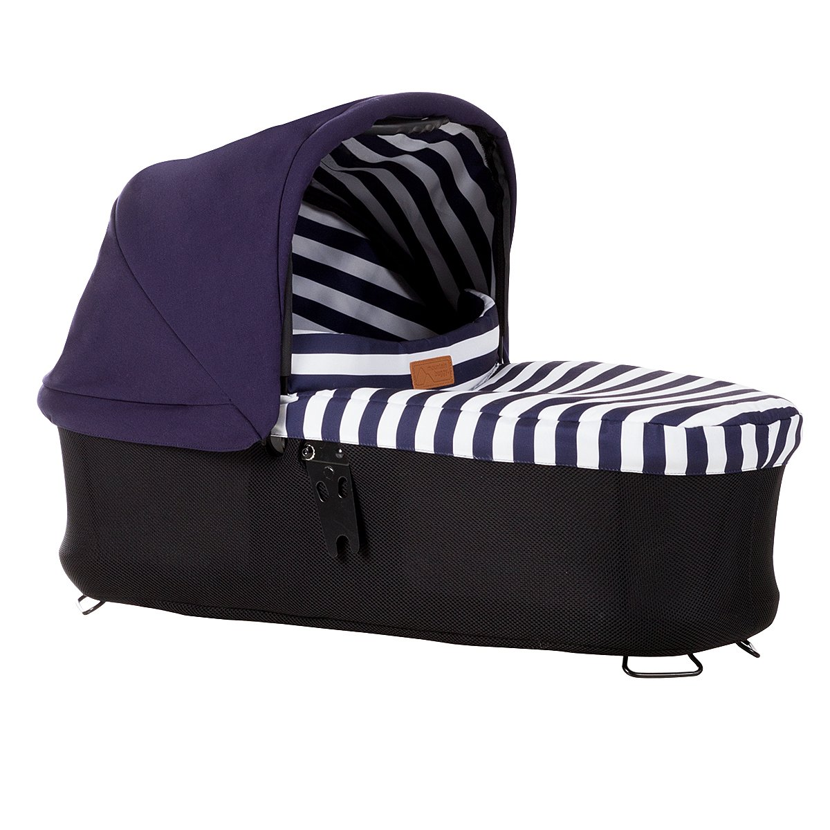 Mountain Buggy Carrycot Plus for Urban Jungle Stroller, Nautical CCPU-V3-37