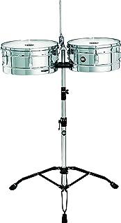 Meinl Percussion HT1314CH - Timbales, serie Headliner, diametro 33,02 cm (13') e 35,56 cm (14'), cromati