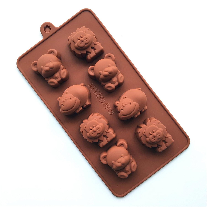 MKNzone 1 moldes de Silicona DIY, Tartas, Chocolate - Tema de Navidad(20 X 10 X 2 cm): Amazon.es: Hogar