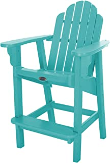 product image for Nags Head Hammocks Classic Counter Height Chair, Turquoise
