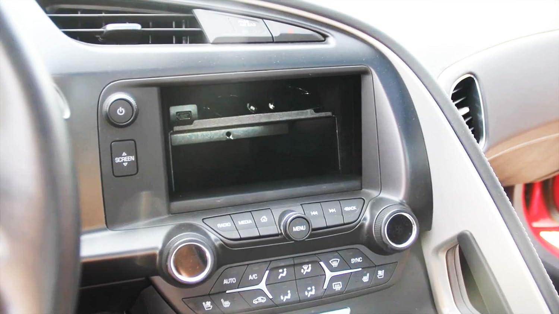 The Dash Display Storage Bin Tray//Dash Storage Accessory Shelf for C7 Corvette Stingray Chevrolet 2014-2019 //Z06//Grand Sport 2014.