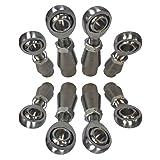 4 Link Rod End Complete Kit with 5/8 Chromoly Heims for Custom Fabrication, RZR Tie Rods, Radius Rods, Race Car, Hot Rod, Sand Rail, Trucks