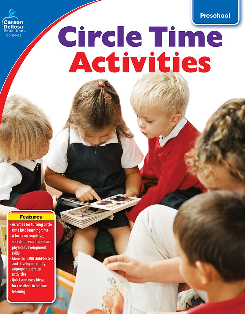 Circle Time Activities Grade Preschool Early Years Carson Dellosa Publishing 0044222211097 Amazon Books