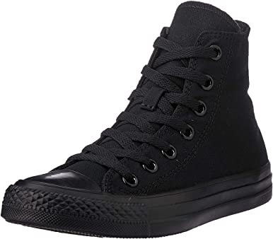 Converse Unisex Chuck Taylor All Star High Top Sneakers (Black Monochrome)