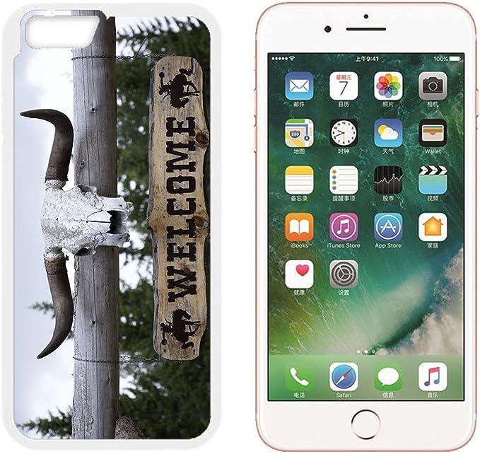 pour Apple iPhone 6 6S 7 Plus Coque Western Cornes Ranch Wild West ...
