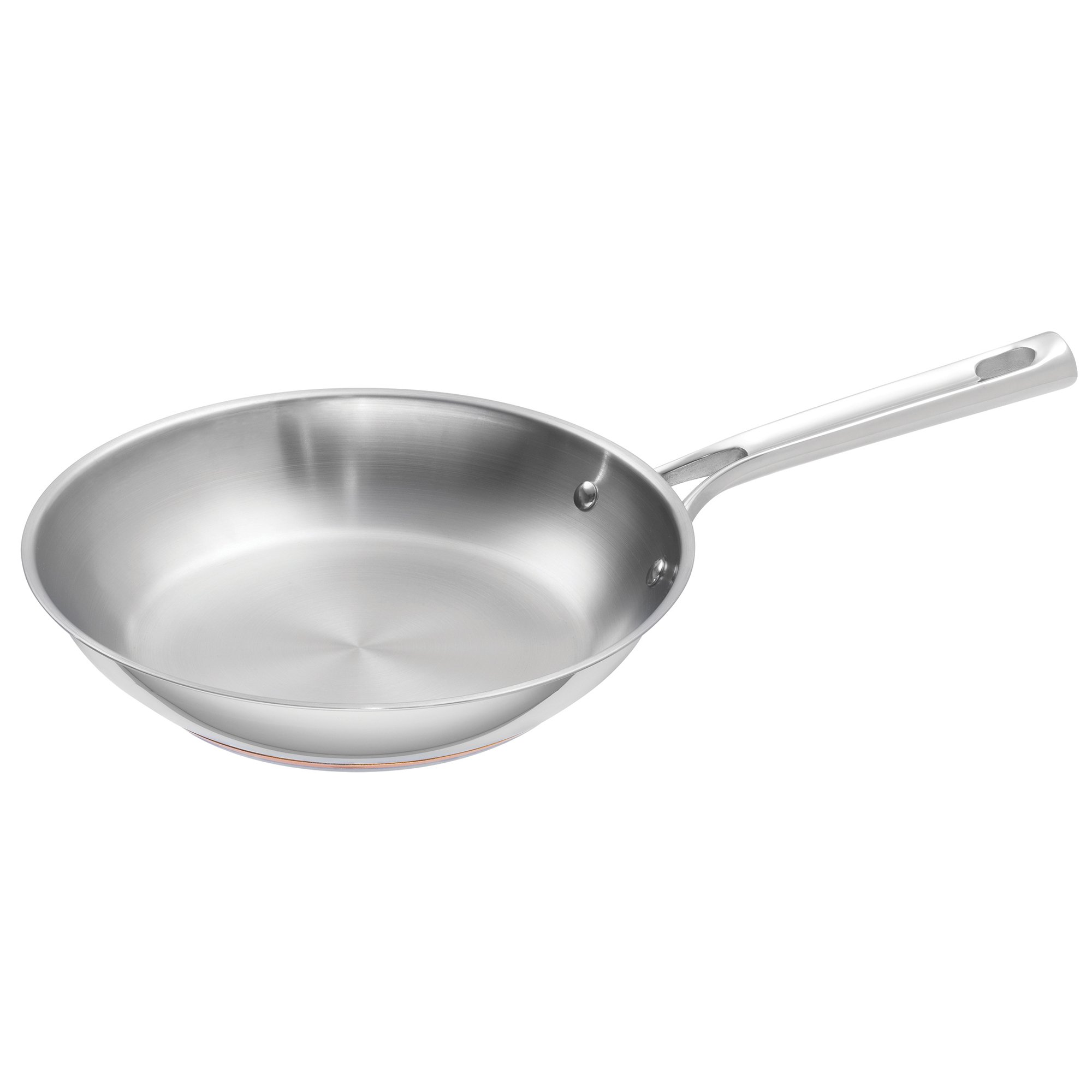 Emeril Lagasse Stainless Steel Copper Core Fry Pan, 10'', Silver
