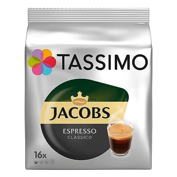 Tassimo Tassimo Jacobs Espresso X 1 Pack 16 Cápsulas: Amazon ...