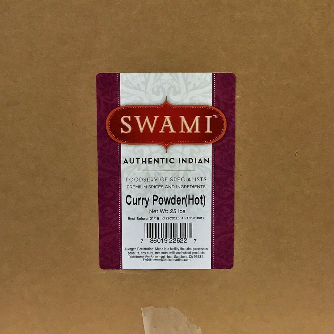 Swami Curry Powder 25lb by Spicemart