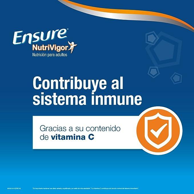 Ensure Nutrivigor sabor chocolate 400g - complemento alimenticio con proteínas, vitaminas, minerales y CaHMB*: Amazon.es: Salud y cuidado personal