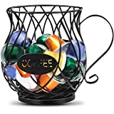 MDHAND K Cup Coffee Pods Organizer Holder, Coffee Capsule Holder, Large-Capacity Coffee Pods Storage Rack for Kitchen Counter